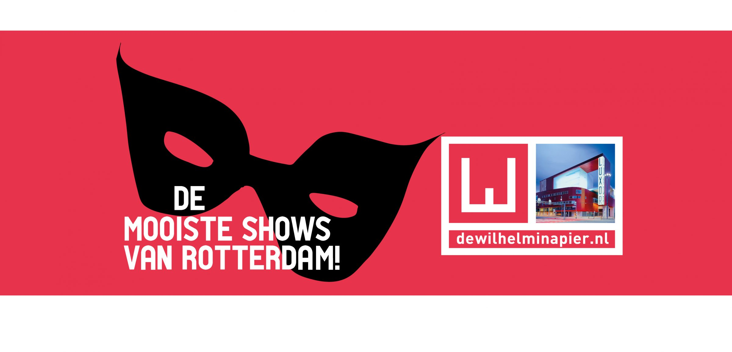 Theater Rotterdam Wilhelminapier - communicatie
