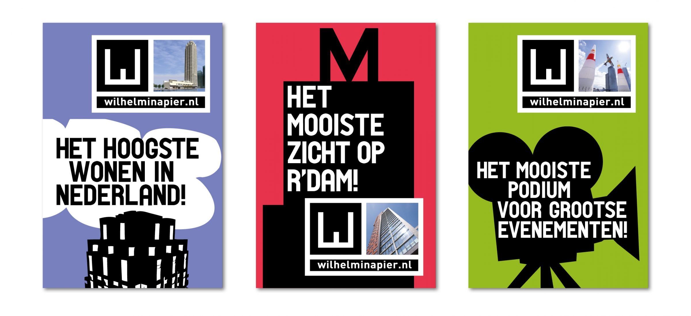 Marketing - Wilhelminapier Rotterdam